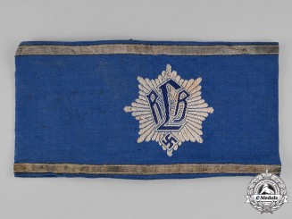 Germany, RLB. A Reich Air Protection League (RLB) Leader's Armband