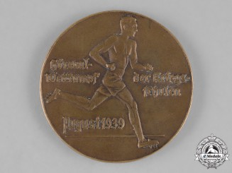 Germany, Wehrmacht. A 1939 Military Academy Sports Competition Medallion