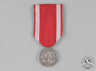 Czechoslovakia, Republic. An Order of the White Lion, II Class Medal, by Karnet
