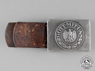 Germany, Heer. A Second War Period Heer (Army) EM/NCO's Belt Buckle