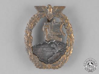 Germany, Kriegsmarine. A Kriegsmarine Auxiliary Cruiser Badge