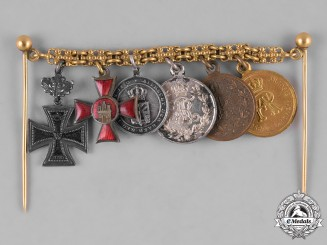 Saxony, Kingdom. A Miniature Award Chain