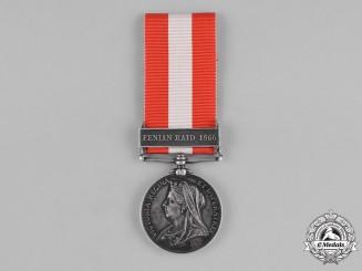 Canada. A General Service Medal 1866-1870, 21st Battalion, Pigeon Hill Raid