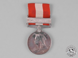 Canada. A General Service Medal 1866-1870, Montreal Brigade, Battle of Trout River