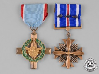 United States. An AFC & DFC Pair to the Most Decorated Enlisted Man in Air Force History