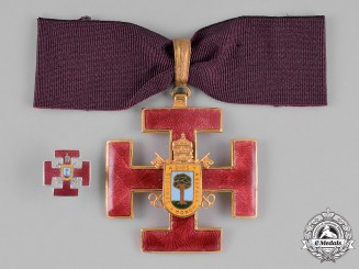 Spain, Kingdom. A Religious & Nobility Order of Toledo, Commander with Miniature