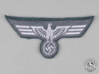 Germany, Heer. An Army EM/NCO's Tunic Breast Eagle