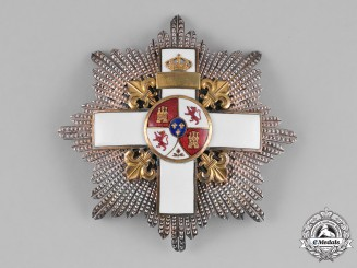 Spain, Kingdom. An Order of Military Merit, White Division, II Class Cross, by B. Castells, c.1915