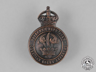 Canada. A Princess Patricia's Canadian Light Infantry Cap Badge, c.1940