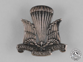 Canada. A Canadian Parachute Regiment Cap Badge, c.1942