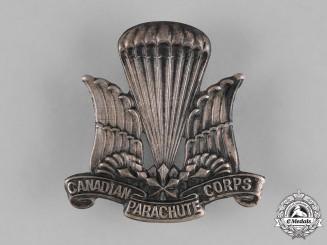 Canada. A Canadian Parachute Regiment Cap Badge, c.1942
