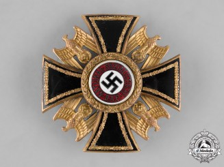 Germany, NSDAP. An Extremely Rare German Order, III Class Cross, by Wilhelm Deumer