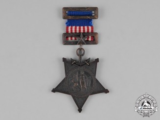 United States. A Navy Medal of Honor, Type II, 1882-1904 Issue