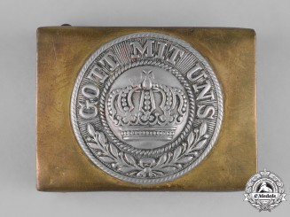 Germany, Imperial. A Heer (Army) EM/NCO's Belt Buckle