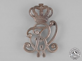 Prussia, Kingdom. A Kaiser Friedrich Wilhelm II Monogram Insignia