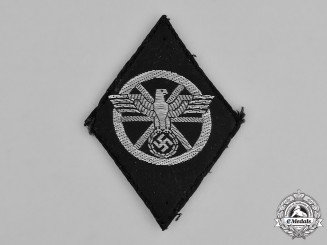 Germany, NSKK. A NSKK Sleeve Diamond Insignia