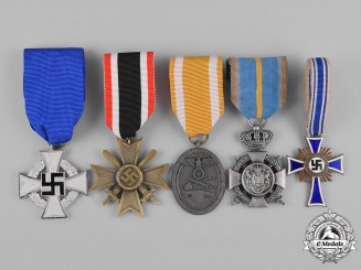 Germany, Third Reich. A Lot of Third Reich Period Medals