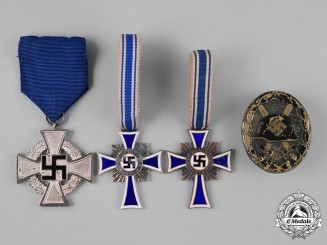 Germany, Third Reich. A Group of Medals & Decorations