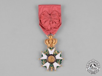 France, July Monarchy. A Order of the Legion of Honour, IV Class Officer, c.1860