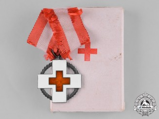 Denmark, Kingdom. A Red Cross Medal for Relief Work During Wartime