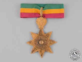 Ethiopia, Empire. An Order of the Star of Ethiopia, II Class, Commander, c.1950