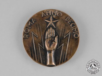 Italy, Kingdom. A First Assembly of Professionals and Artists Medal 1932
