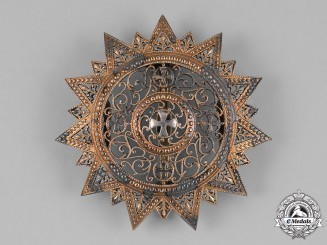 Ethiopia, Empire. An Order of the Star of Ethiopia, Grand Cross Star, c.1950