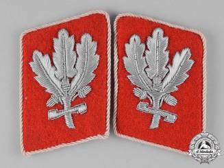 Germany, SA. A Pair of RZM-Marked Sturmabteilung (SA) Hauptampt Brigadeführer Collar Tabs