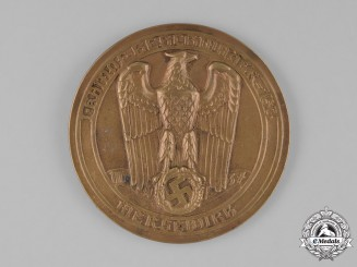 Germany, Luftwaffe. A Kampfgeschwader (Bomber Group) 153 Commemorative Table Medal