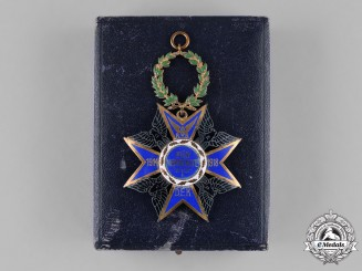 Germany, Empire. A Federal Association of the Railway Veterans Commemorative Cross and Presentation Case