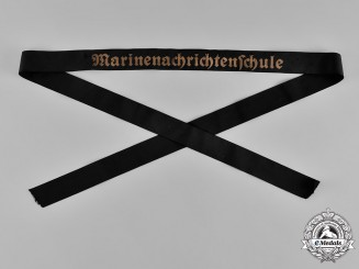 Germany, Kriegsmarine. A Cap Ribbon