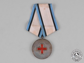 Estonia, Republic. A Red Cross Medal, c.1925
