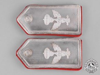 Italy, Kingdom. An Africa Corps General's Shoulder Board Pair