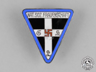 Germany, NS-Frauenschaft. A National Socialist Women's League Leader Badge