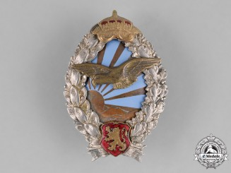 Bulgaria, Kingdom. A Pilot's Badge, c.1941