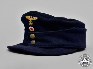 Germany, Reichsbahn. A National Railway M43 Field Cap, by Otto Wesely