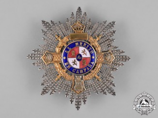 Spain, Franco Period. A War Cross, Dedicated Star with Gold, c.1939
