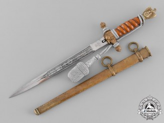 Germany, Kriegsmarine. An Officer's Dagger, by Carl Eickhorn