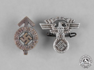Germany. Two Miniature Membership and Proficiency Badges