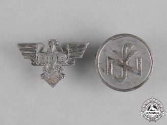 Germany. Two Miniature Supporter's and Membership Stick Pins