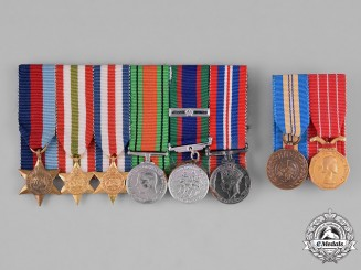 Canada. Eight Miniature Medals