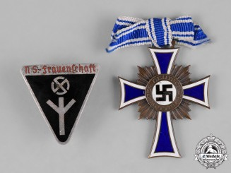 Germany, Third Reich. Two Second War Period Awards