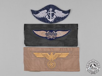 Germany, Wehrmacht. A Lot of Cloth Insignia