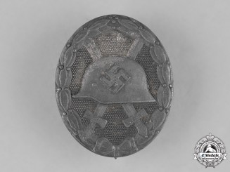 Germany, Wehrmacht. A Wound Badge, Silver Grade, by Hauptmünzamt Wien