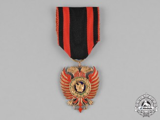 Albania, Italian Occupation. An Order of Skanderbeg, V Class, Knight, c.1941
