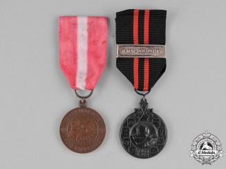 Finland, Republic. Two Second War Medals & Awards