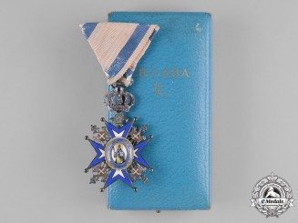 Serbia, Kingdom. An Order of St. Sava, V Class Knight, c.1935