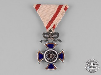 Montenegro, Kingdom. An Order of Danilo I, IV Class Officer, c.1900