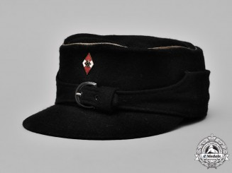 Germany, HJ. A HJ/DJ Winter Service Cap