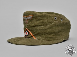 Germany, Heer. An Army Military Police EM/NCO's M41 Tropical Field Cap